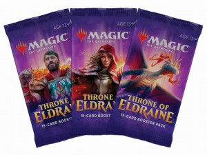 10 Boosterów Throne of Eldraine
