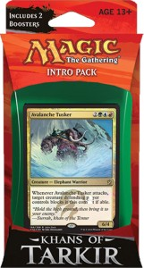 Temur Avalanche - Khans of Tarkir - Intro Pack