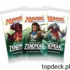 10 boosterów Battle for Zendikar